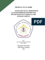 Proposal Sistem Pengolahan Data Administrasi Koperasi