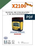 Manual Mx2100