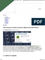 Cinco formas de rebelarse contra las subidas de la tarifa eléctrica __ Ecolaboratorio __ Blogs EL PAÍS