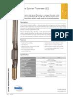 In-Line Spinner Flowmeter (ILS)