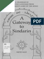 David Salo - A Gateway to Sindarin - A Grammar of an Elvish Language