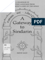 David Salo - A Gateway to Sindarin - A Grammar of an Elvish Language