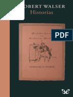 Walser, Robert - Historias [10439] (r1.0)