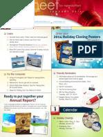 CUAdvantage Idea Sheet - Winter 2013