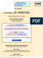 Curso de Armonia Michel Baron