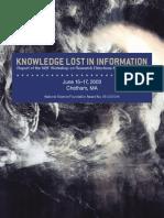Knowledge Lost Report200405