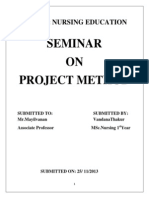Project Method