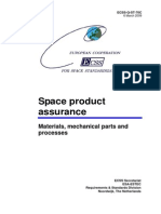 ECSS-Q-ST-70C Materials, mechanical parts and processes