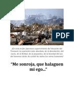 Me sonroja y halaga mi ego... En honor al difunto, Gabriel García Márquez...