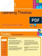 Operating Theatre Management toolkit