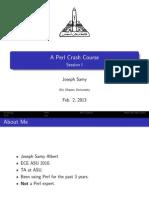 Perl Basics Pdf