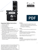 Arena Reverb Manual En