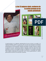 Gaston Acurio y Los 12 Mejores Chefs de la cocina peruana en la Era de la globalizacion