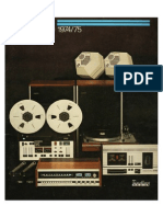Tandberg 1974-75 Catalog