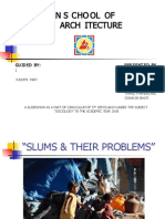 Slums and Their Problem