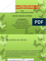 2 Revision y Etiquietas de Word.