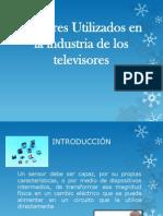 Sensores Utilizados en La Industria de Los Televisores