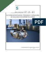 Lista de Precios Motores Siemens - Rev. Nov13