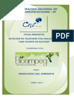Ficha Ambiental San Vicente