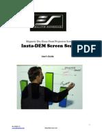 User Guide Insta Dem Screen Rev040611 As