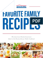American Family Insurance Favorite Family Recipes Cookbook