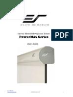 User Guide Powermax Series