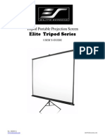 User Guide Tripod Series