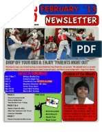 SMA Feb '14 Newsletter