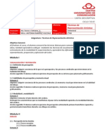 Carta Descriptiva Tec Rep Art ARI 14-1