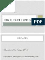013014 Budget PPT