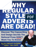 Why Regular Styled Adverts Are Dead