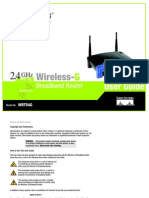 WRT54G Wireless Router User Guide