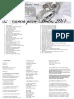 52 Cantos para Bodas 2014-Coro Mensajeros del Espíritu Santo.pdf