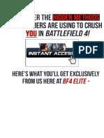 Battlefield 4 ELITE Strategy Guide eBook REVIEW