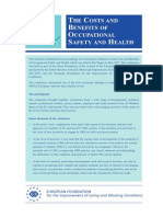 Articulo Costos y Beneficios de La Prevencion de Riesgo Laborales