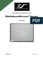 User Guide Whiteboard Series