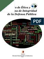 Manuel Taller Códgo de Ética y Sistema de Integridad de la Defesa Pública