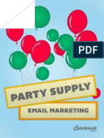 Party Supply Email Marketing