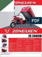 Manual Zongshen