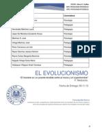 Filosofía - Evolucionismo 09.11.13