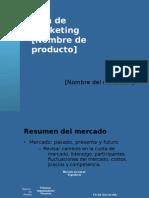 Plan de Marketing-referat