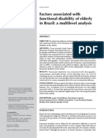 Alves, Leite, Machado - 2010 - Factors Associated With Functional Disability of Elderly in Brazil a Multilevel Analysis