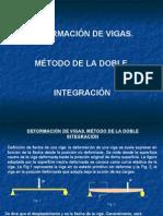 deformación de vigas. metodo de la doble integracion