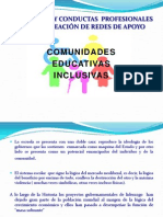 Comunidades educativas inclusivas