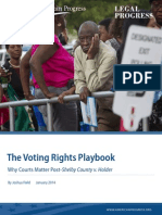 Voting Rights Playbook Report