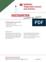 Czujniki temperatury MOTOMETER