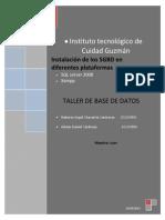 Manual para la instalación SQL 2008