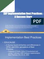 BEST Practice in Erp