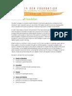 The NEA Foundation Program Overviews