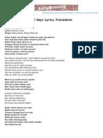 Bollymeaning.com-Kaise Mujhe Tum Mil Gayi Lyrics Translation